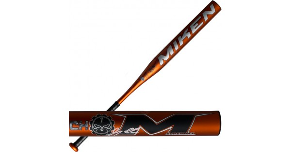 Bat Rolled 2016 Miken Izzy Psycho Supermax Usssa Slowpitch