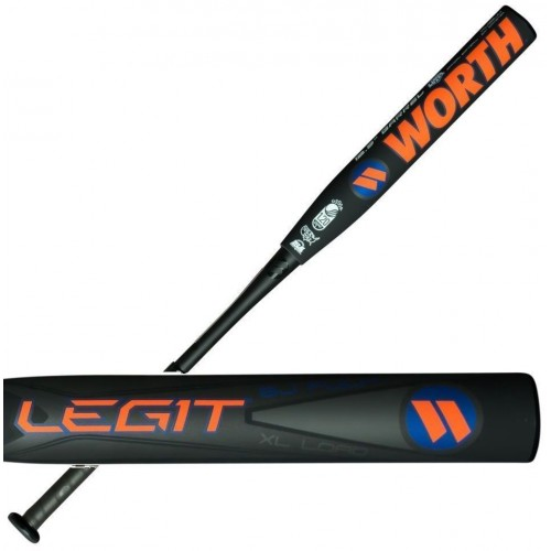 2017 Worth BJ Fulk Legit XL Endload Slowpitch Softball Bat