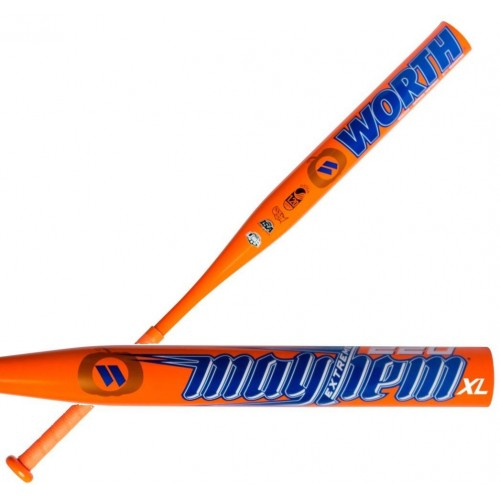 2017 Worth Mayhem COMP XL USSSA Slowpitch Softball Bat