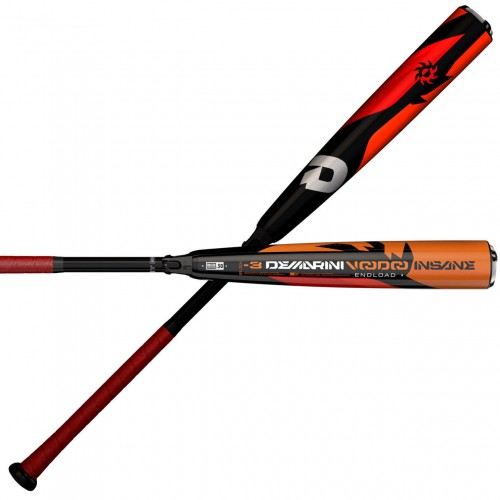 Shaved 2018 Demarini Voodoo Insane Endloaded -3 BBCOR ...