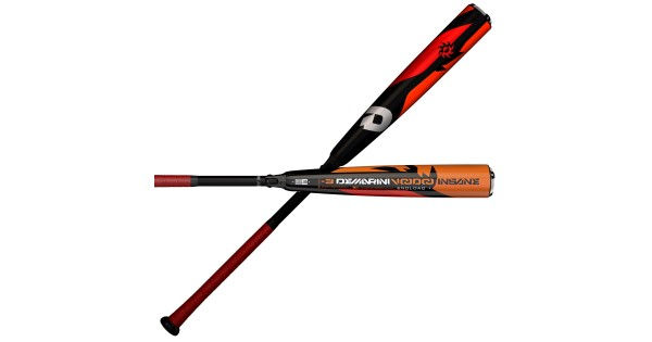 Shaved 2018 Demarini Voodoo Insane Endloaded 3 Bbcor