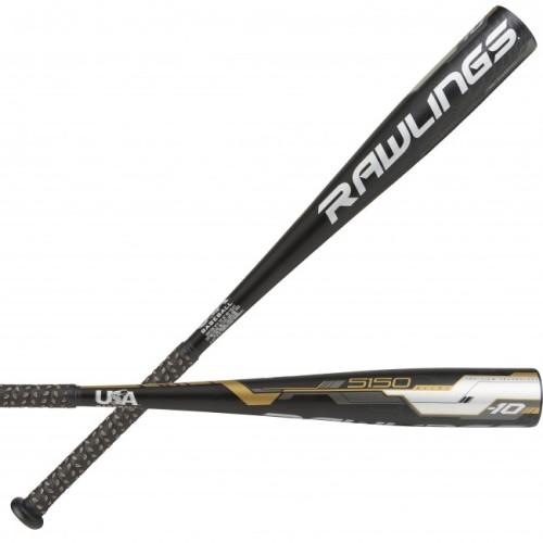 2018 Rawlings 5150 Alloy -10 Baseball Bat