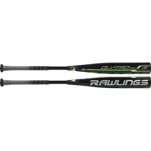 2019 Rawlings Quatro Pro BBCOR -3 Adult Baseball Bat BB9Q3