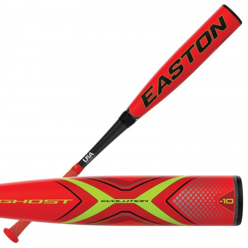2019 Easton Ghost X Evolution -10 USA Stamped Bat