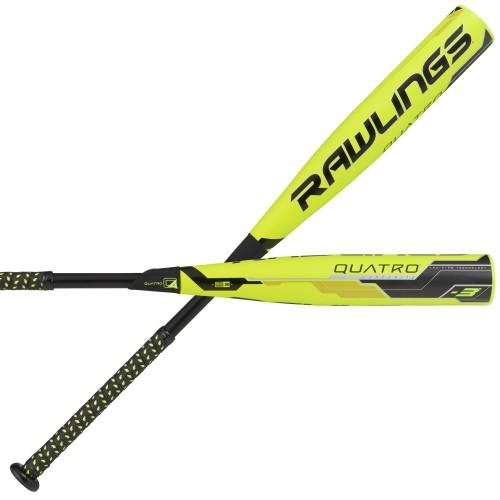2018 Rawlings Quatro BBCOR Baseball Bat
